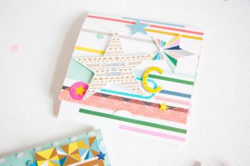 Customized Notebooks by Scattered Confetti. // #scrapbooking #papercrafting #kidscrafts #citrustwistkits #pinkpaislee #diy