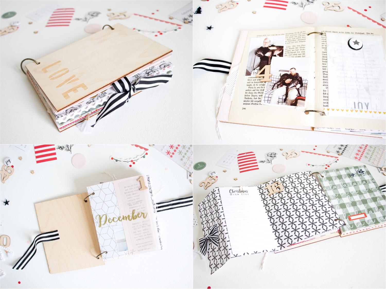 December Daily by ScatteredConfetti. // #scrapbooking #minialbum #felicityjane