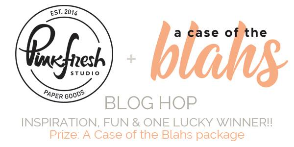 """Pinkfresh Studio """"A Case of the Blahs"""" BlogHop // #scrapbooking #layout"""