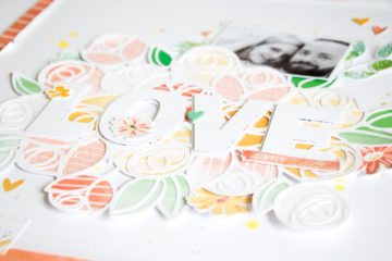 "Pinkfresh Studio ""Let Your Heart Decide"" BlogHop // #scrapbooking #layout"