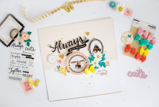 You are my Sunshine by ScatteredConfetti. // #scrapbooking #cratepaper #willowlane #maggieholmes