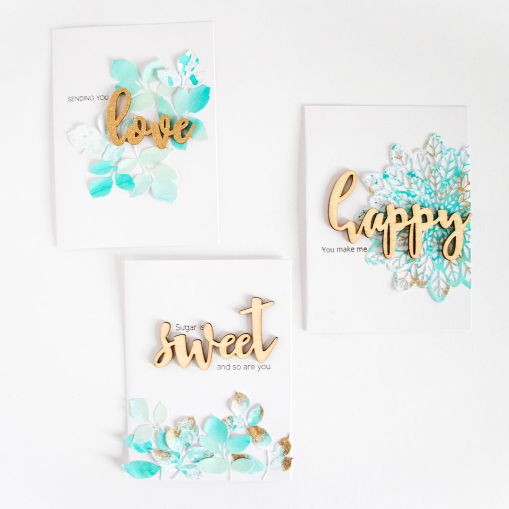 Cards by ScatteredConfetti. // #scrapbooking #cardmaking #altenew