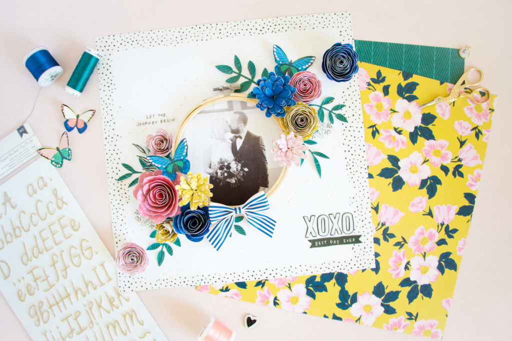 Best Day by ScatteredConfetti. // #scrapbooking #cratepaper #maggieholmes