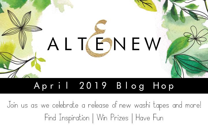 Altenew April 2019 Blog Hop.
