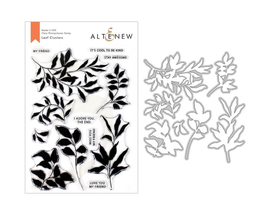 Altenew Leaf Clusters Stamp and Die Set